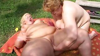 Token really fat SSBBW lesbians who enjoy fingering meaty cunts