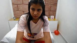 teen latina - Blowing Wanting