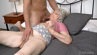 Full libidinous passion for grandma