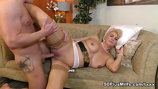 How to jack, suck and fuck a cock, by Dimonty - Dimonty and Luke Hardy - 50PlusMILFs