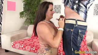 Golden Slut - Perfect Grannies Give Professional Blowjobs Compilation