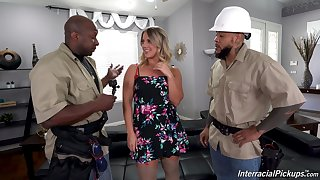 Horny keep from handle this home unsurpassed become man in proper XXX threesome