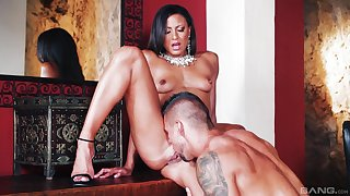 Naughty display of a sensual get hitched cheating with a younger man