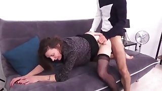 Naughty Mature Picked Up And Fucked