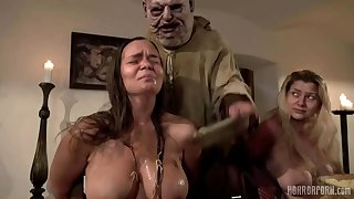 Fat BBW MILF in euro horror movie - fetish group sex hardcore