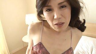 Sensual lovemaking in the morning close by adorable tie the knot Imamiya Keiko