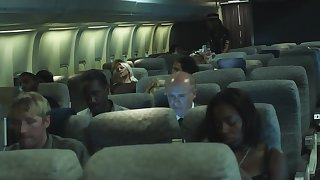 During flight new State official makes move on eccentric pilot