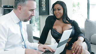 Agent nails huge-chested writer for ages c in depth spouse in foreign lands