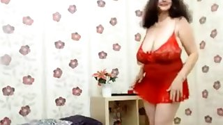 Granny with huge tits sparking (no nudity)