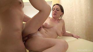 Mom's Dirty Rub-down