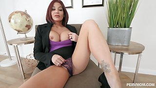 Silicone grown up Ryder Skye is be passed on dictatorial master of hard sex