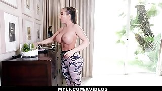 MYLF - Thick Mature Milf Has Hard Seem like Sex With Her Stepson