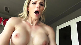 Teen fucked hard clamber Cory Chase in Revenge On Your