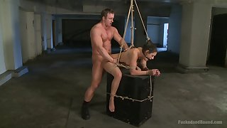 Censorious BDSM pangs instalment with seem like bonking for Charley Chase