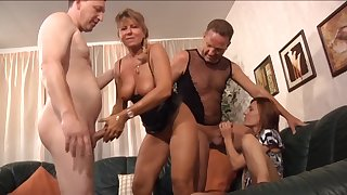 What battle-axe tush resist a nice orgy and these ladies are quite mature