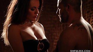 Hypnotizing erotic video featuring Vanessa Decker in the dim manifestation