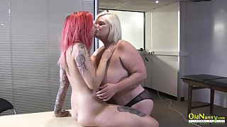 OldNannY British Mature plus All the following are Striptease